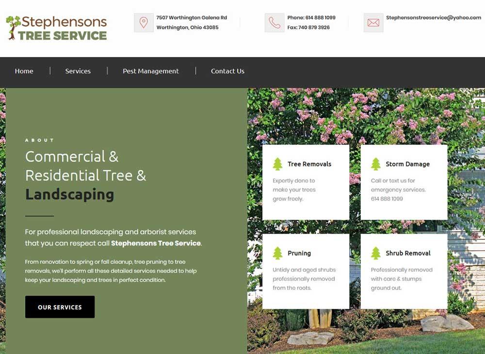 Stephensons Tree Service