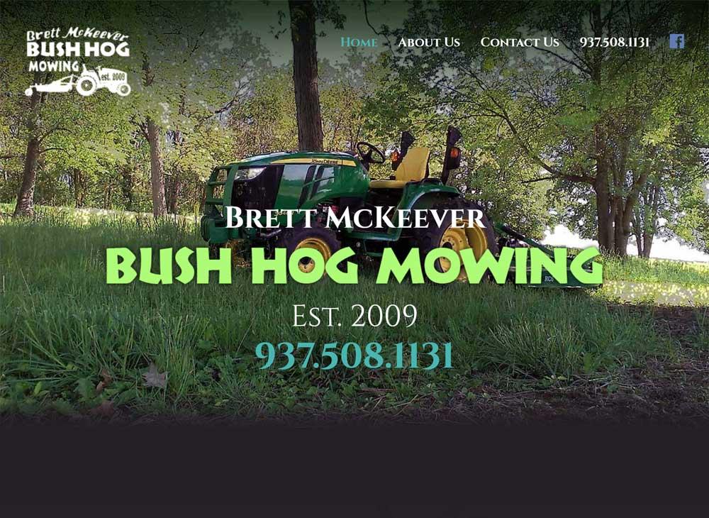 Bushhog Mowing