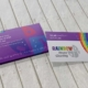 Rainbow House Cleaning Business Card Design